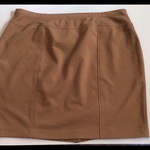Elastic waist skirt - no zipper no buttons!